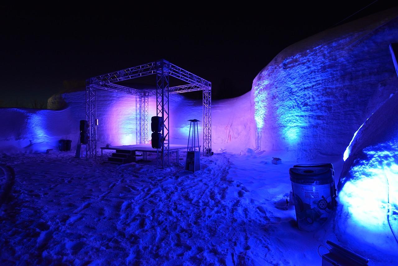 Fête des neiges de Montréal au Parc Jean-Drapeau, Snow Village 2013-01-20 - 59