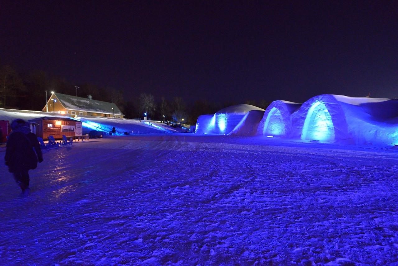 Fête des neiges de Montréal au Parc Jean-Drapeau, Snow Village 2013-01-20 - 60