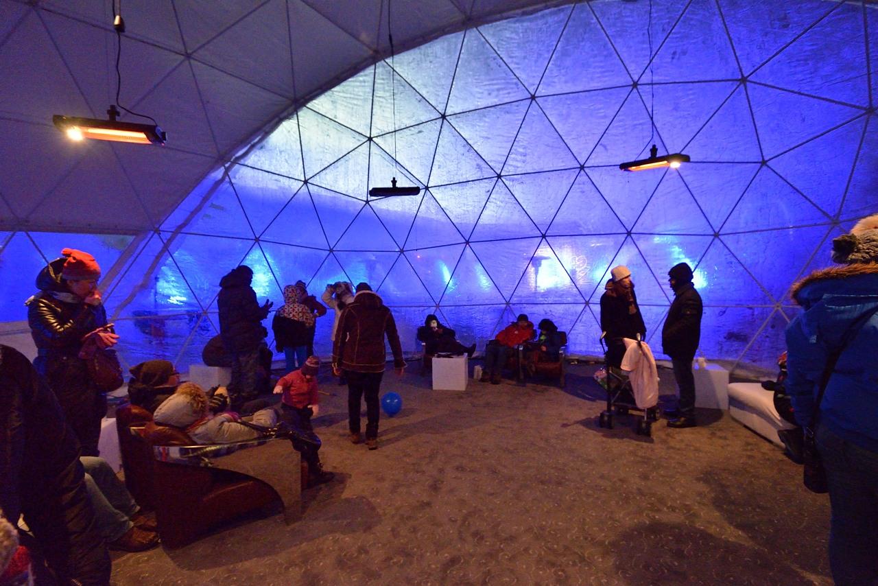 Fête des neiges de Montréal au Parc Jean-Drapeau, Snow Village 2013-01-20 - 61