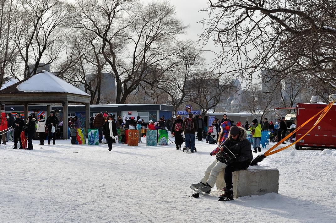Fête des neiges de Montréal au Parc Jean-Drapeau, Snow Village 2013-01-20 - 65