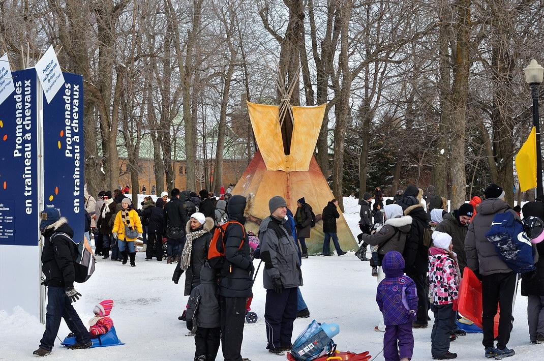 Fête des neiges de Montréal au Parc Jean-Drapeau, Snow Village 2013-01-20 - 68