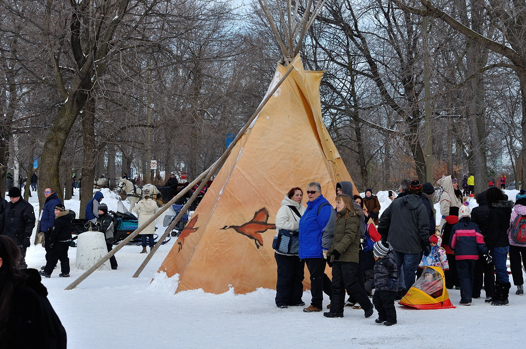 Fête des neiges de Montréal au Parc Jean-Drapeau, Snow Village 2013-01-20 - 73