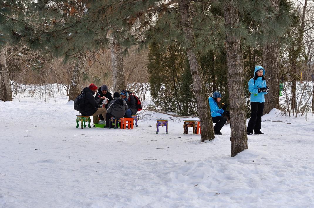 Fête des neiges de Montréal au Parc Jean-Drapeau, Snow Village 2013-01-20 - 74