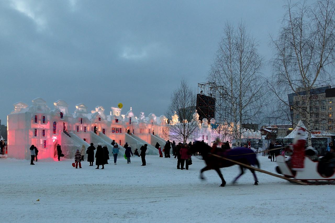 Ледовый городок в Перми, январь 2013 - 1