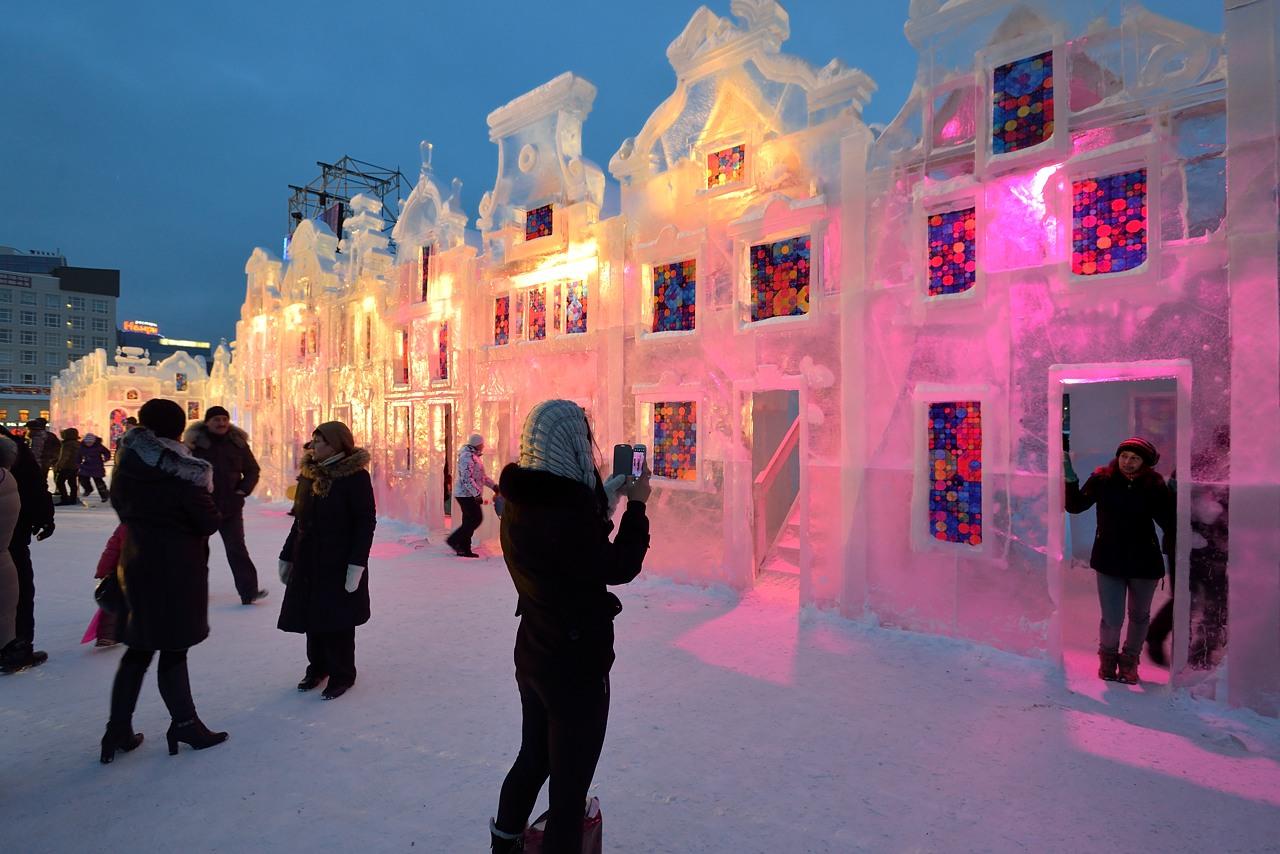 Ледовый городок в Перми, январь 2013 - 3