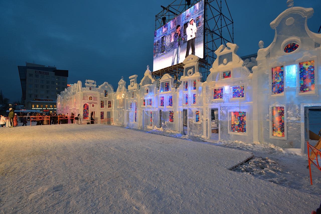 Ледовый городок в Перми, январь 2013 - 4