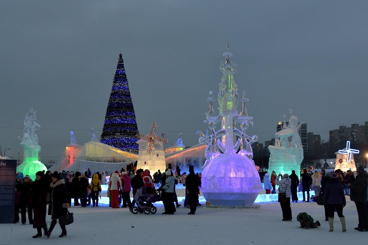Ледовый городок в Перми, январь 2013 - 5