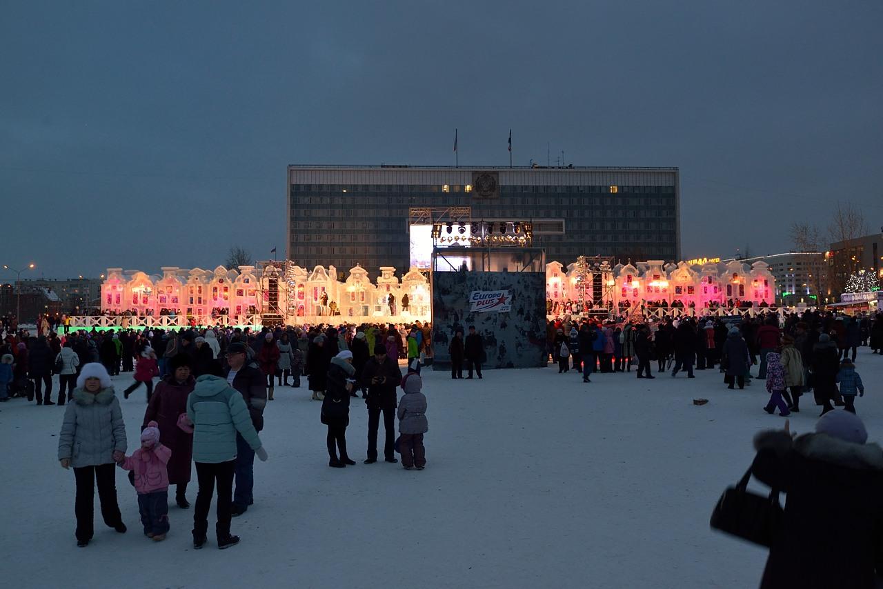 Ледовый городок в Перми, январь 2013 - 6