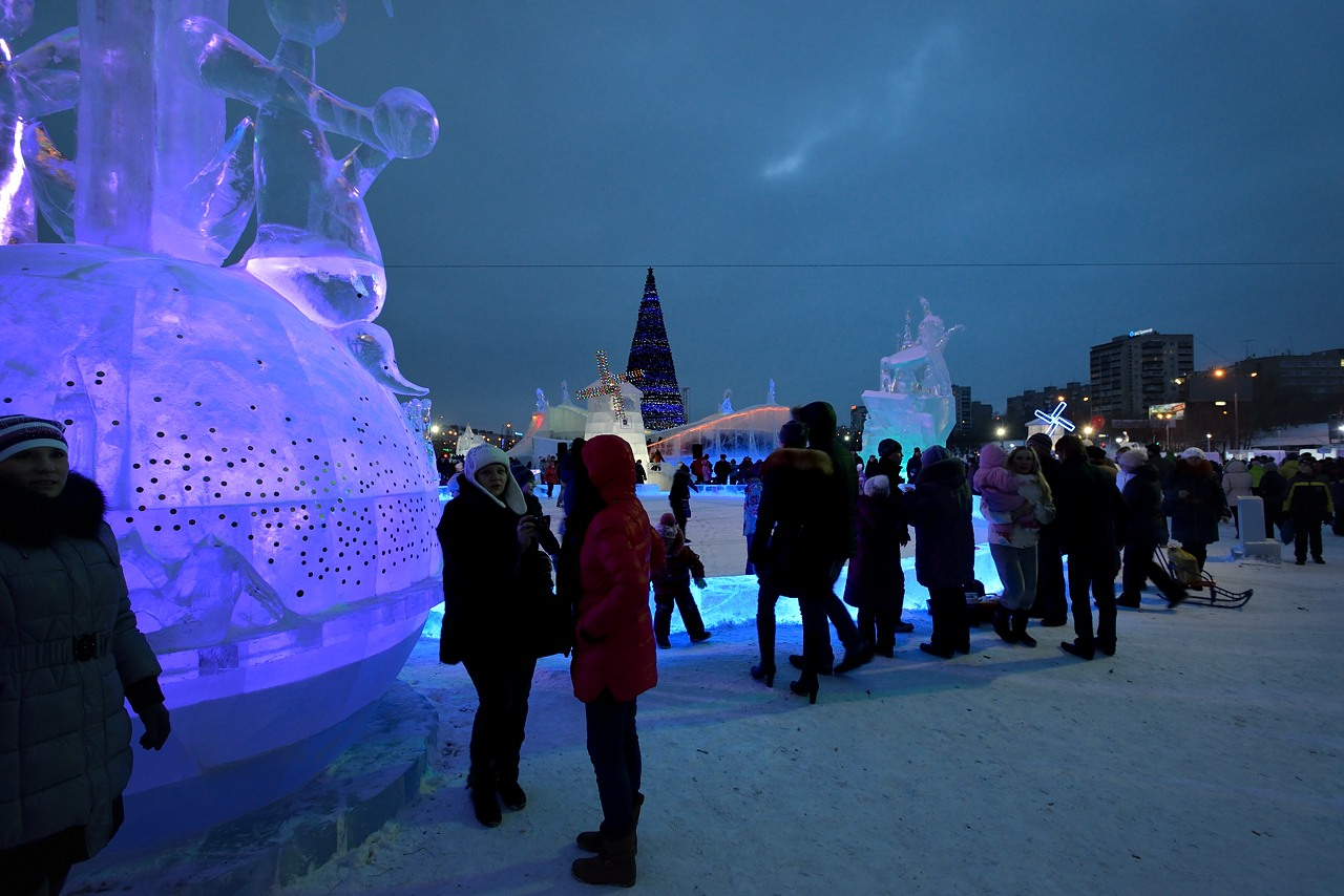 Ледовый городок в Перми, январь 2013 - 7