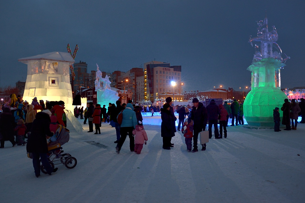 Ледовый городок в Перми, январь 2013 - 9