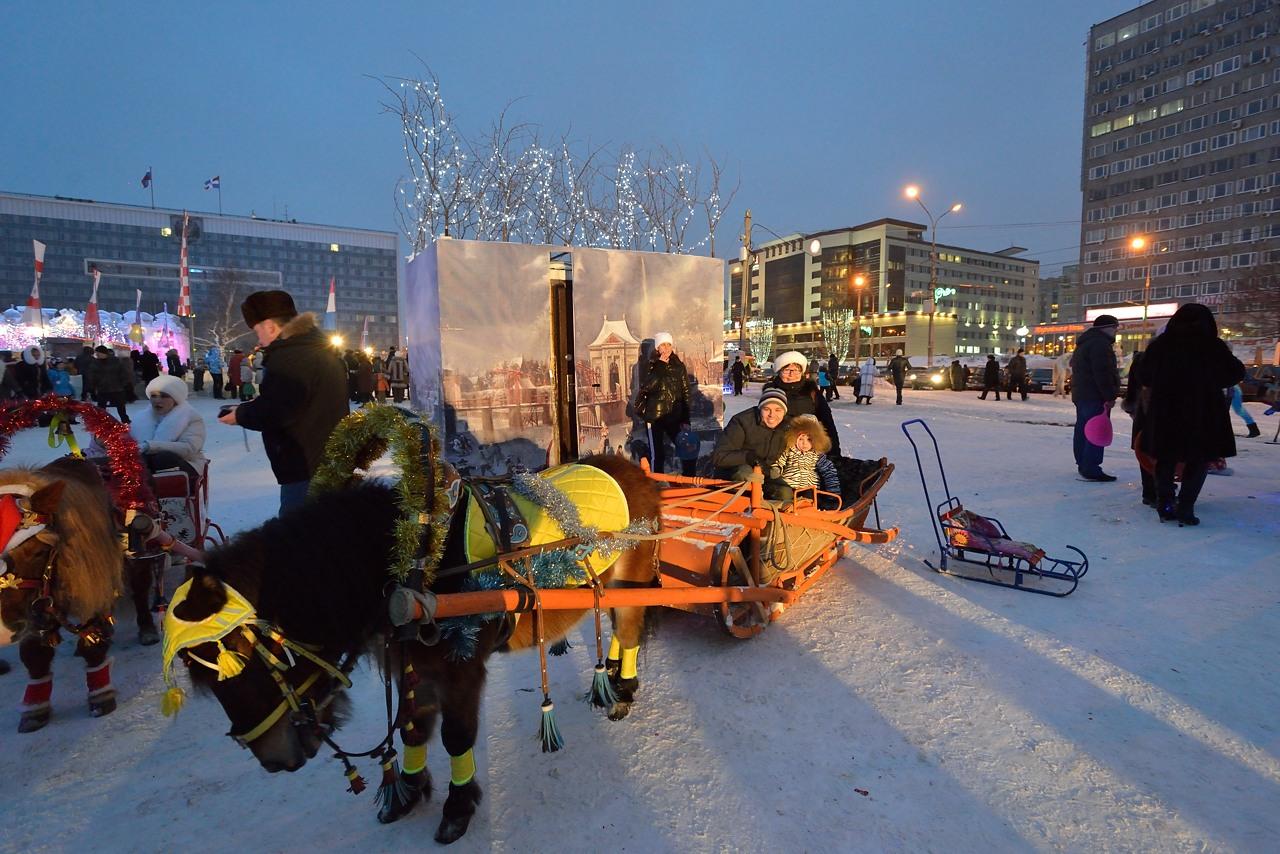 Ледовый городок в Перми, январь 2013 - 11