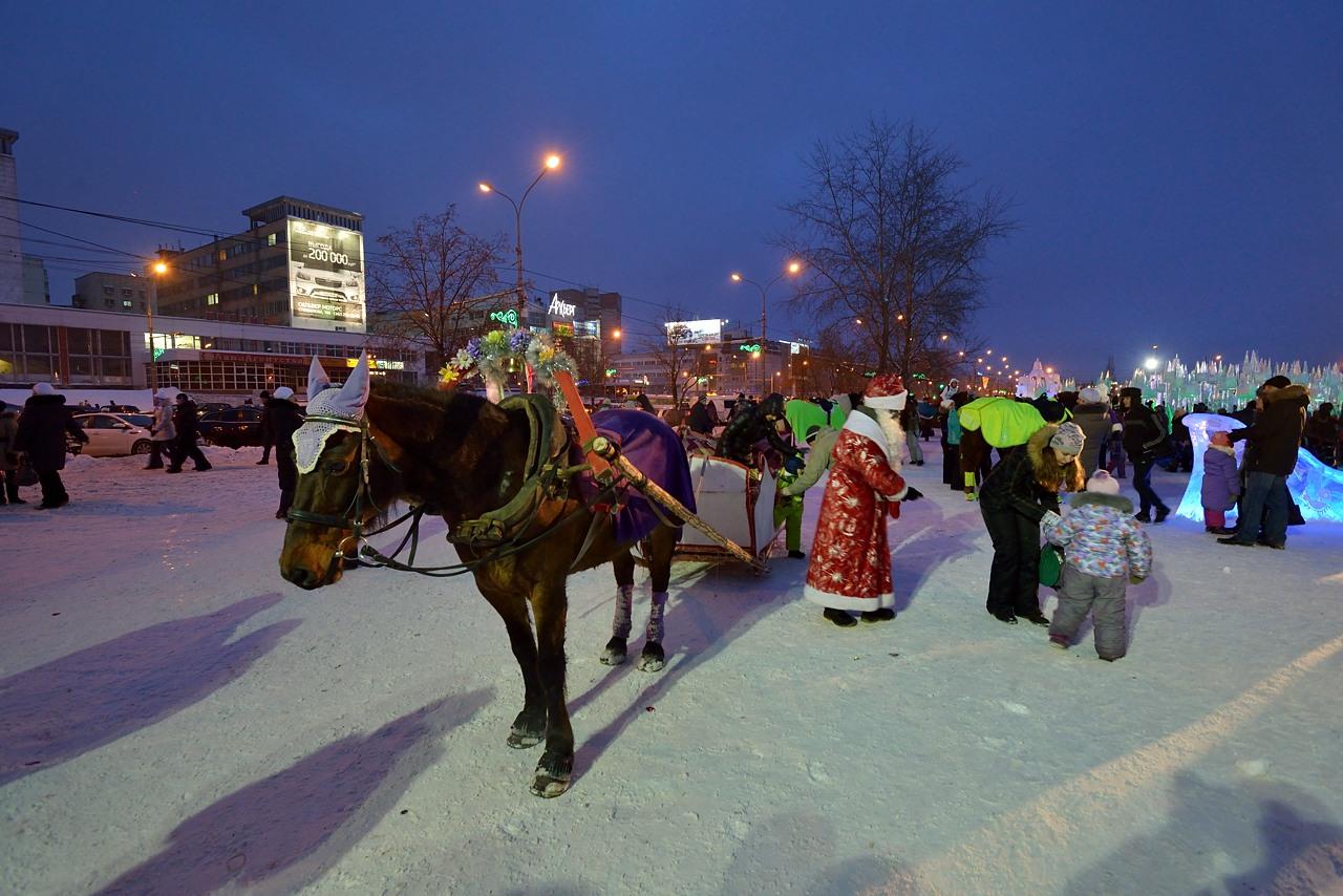 Ледовый городок в Перми, январь 2013 - 12