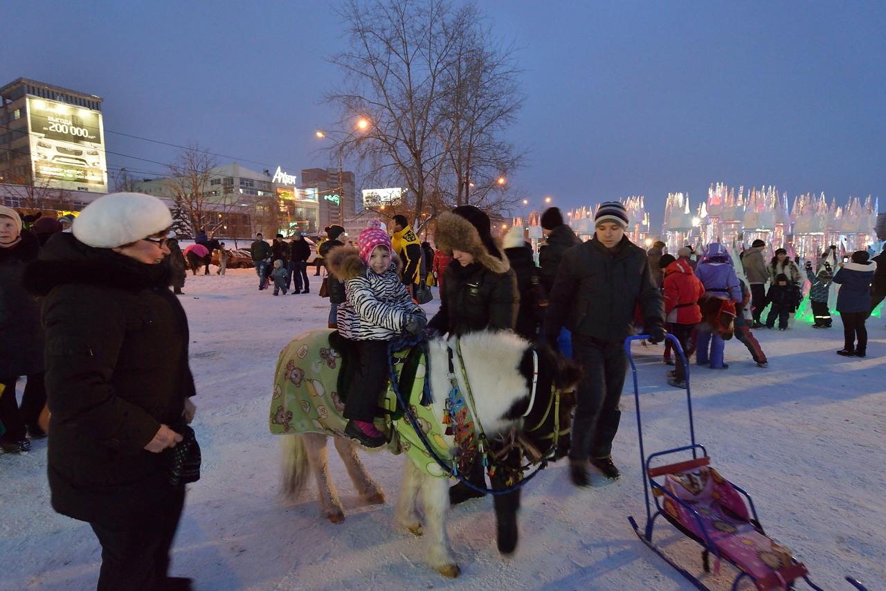 Ледовый городок в Перми, январь 2013 - 13
