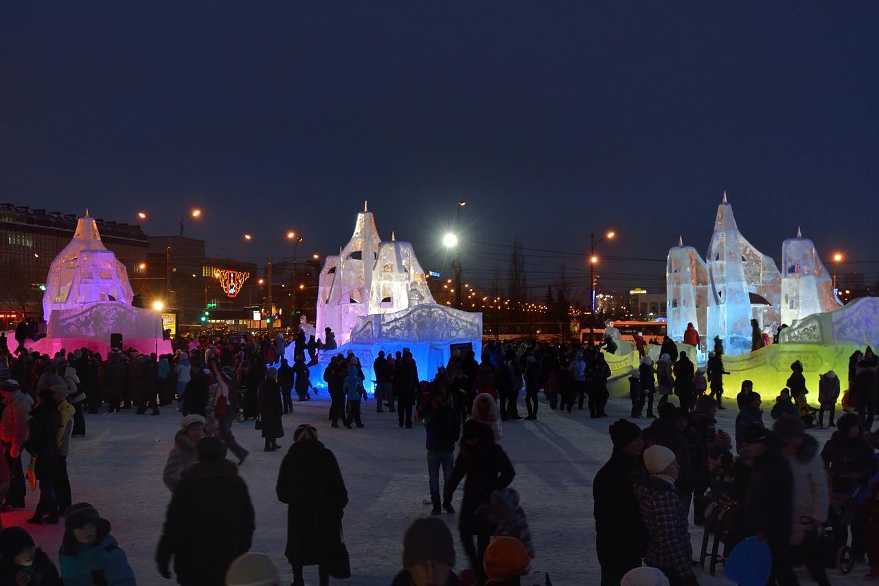 Ледовый городок в Перми, январь 2013 - 17