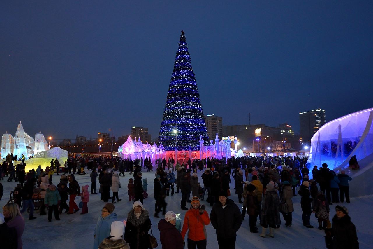 Ледовый городок в Перми, январь 2013 - 18