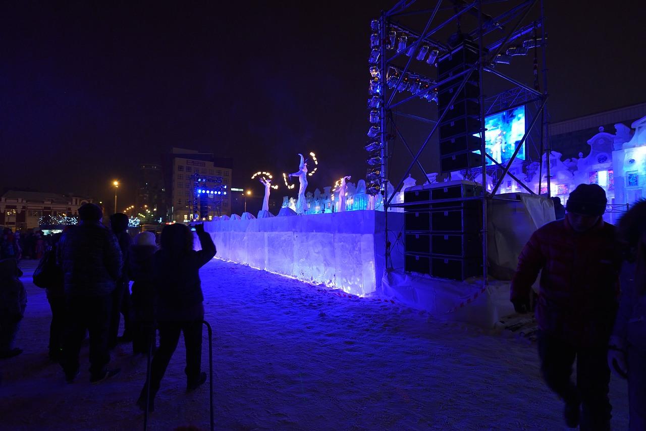 Ледовый городок в Перми, январь 2013 - 20
