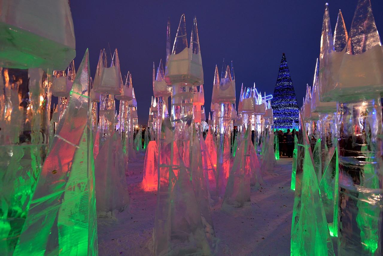 Ледовый городок в Перми, январь 2013 - 21