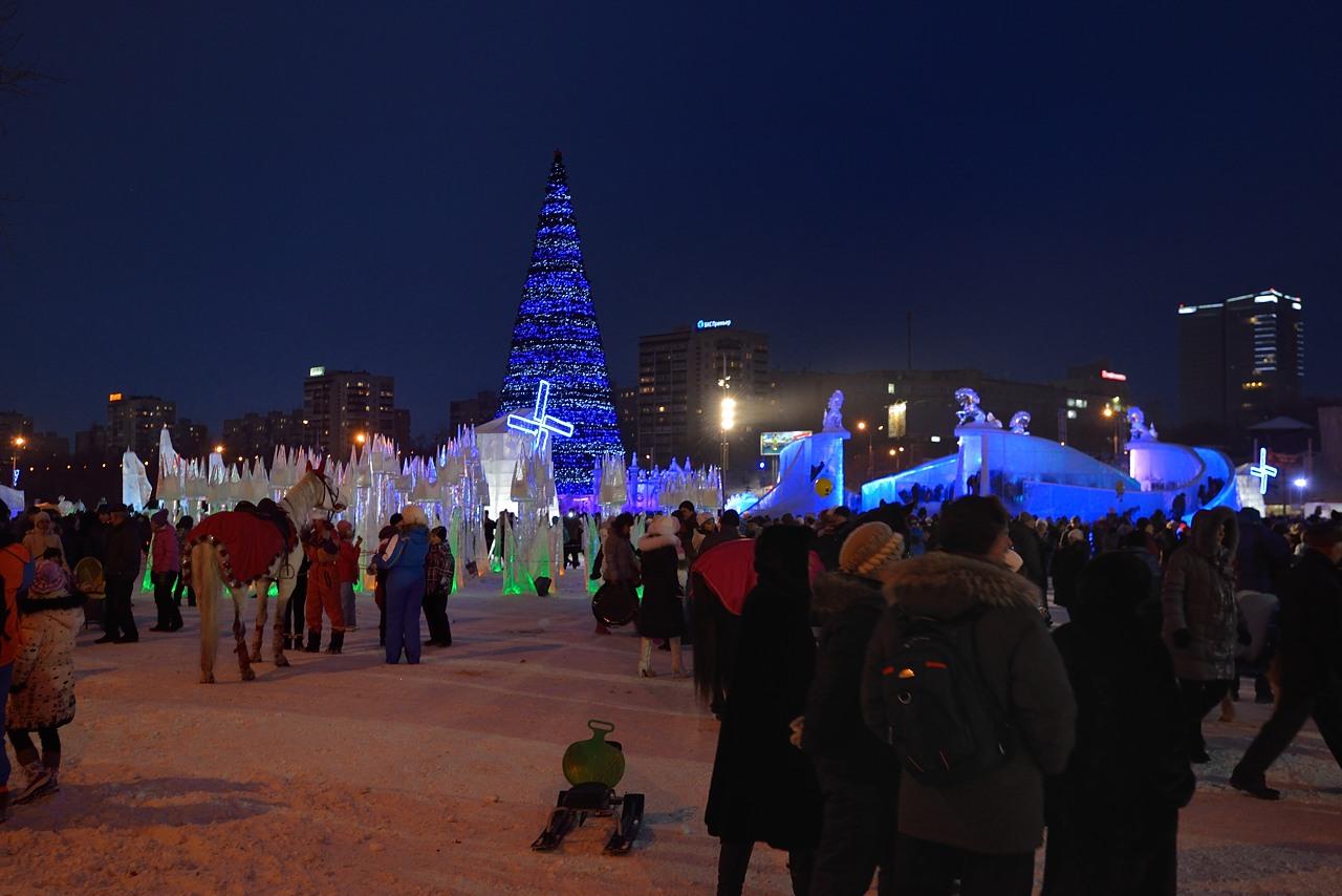 Ледовый городок в Перми, январь 2013 - 22