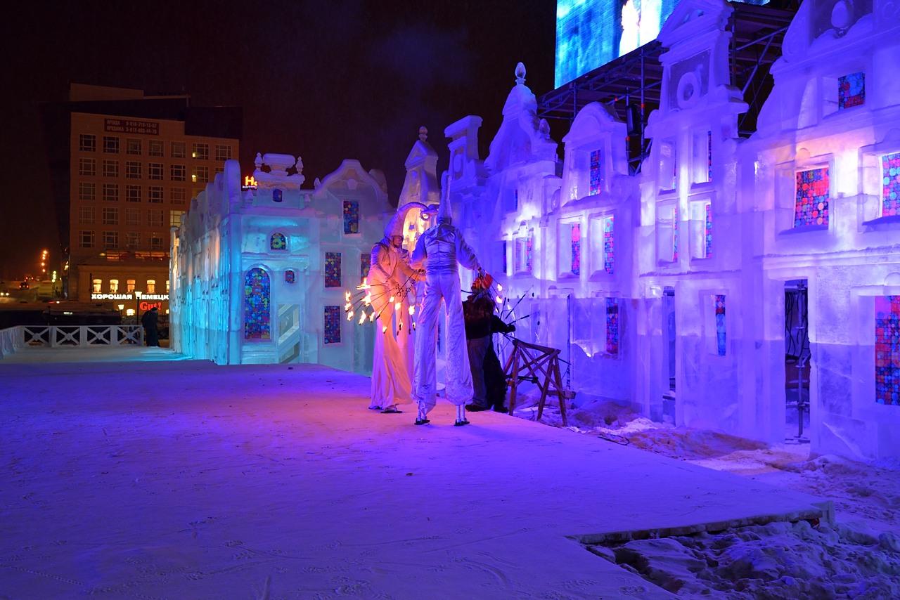 Ледовый городок в Перми, январь 2013 - 28