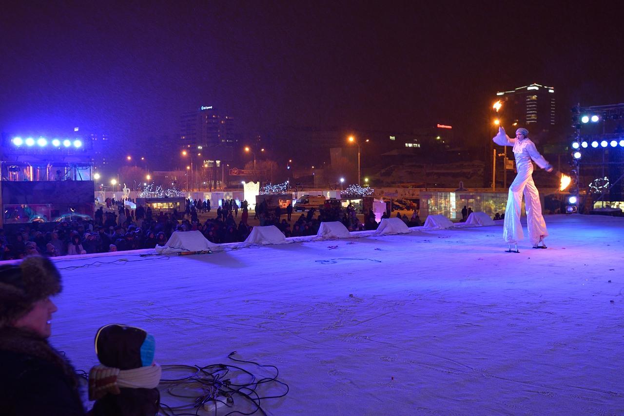 Ледовый городок в Перми, январь 2013 - 29