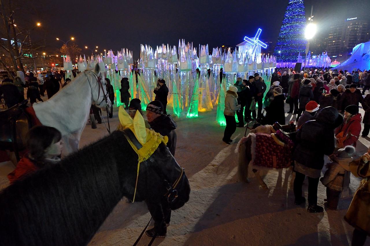Ледовый городок в Перми, январь 2013 - 31