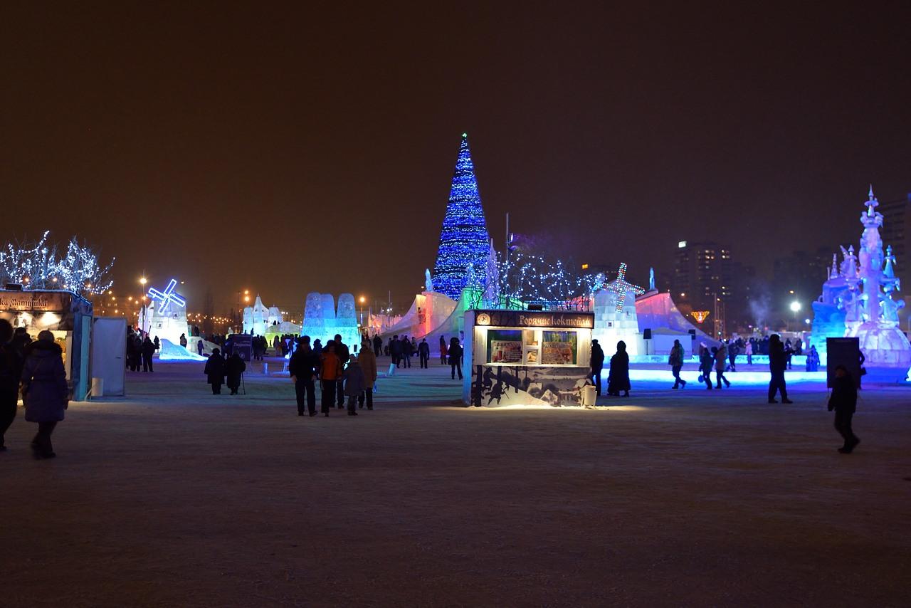 Ледовый городок в Перми, январь 2013 - 32