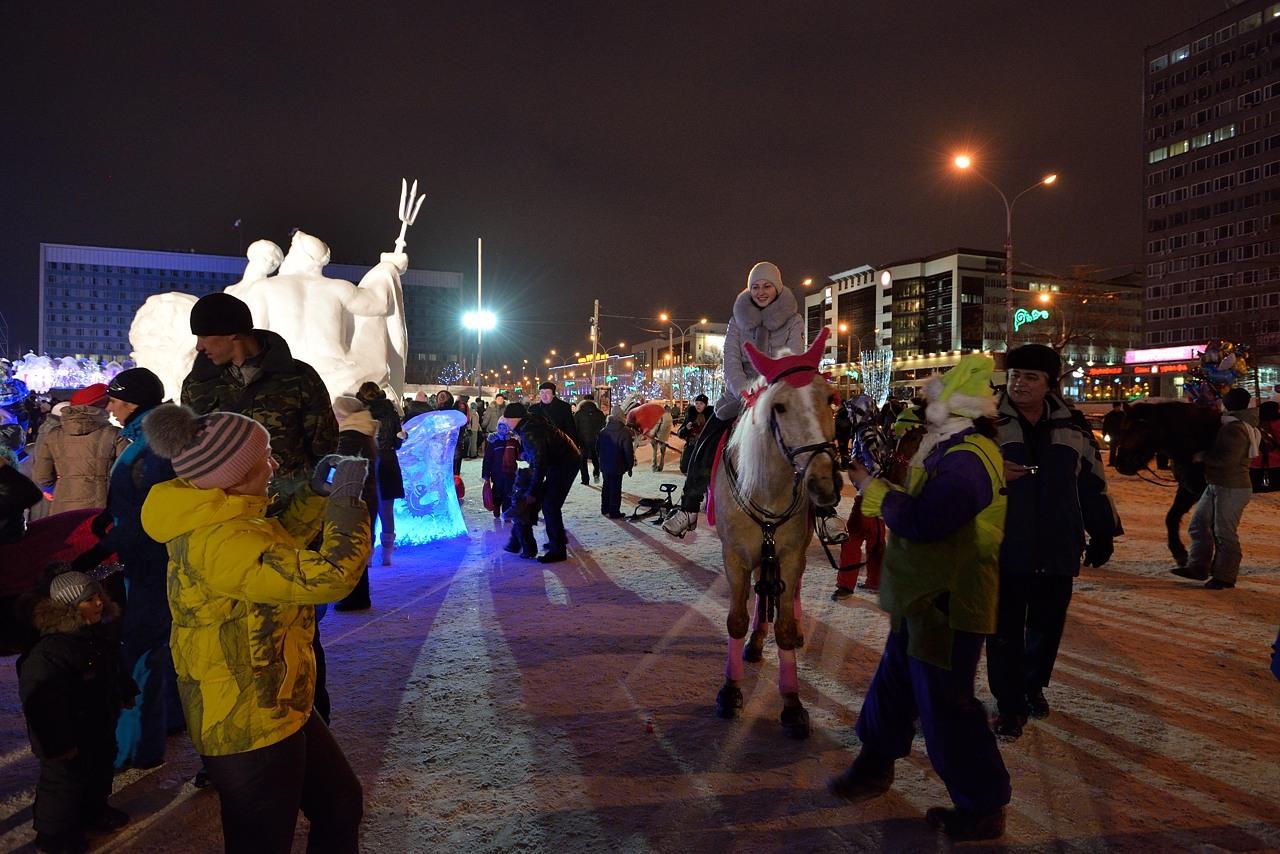 Ледовый городок в Перми, январь 2013 - 33