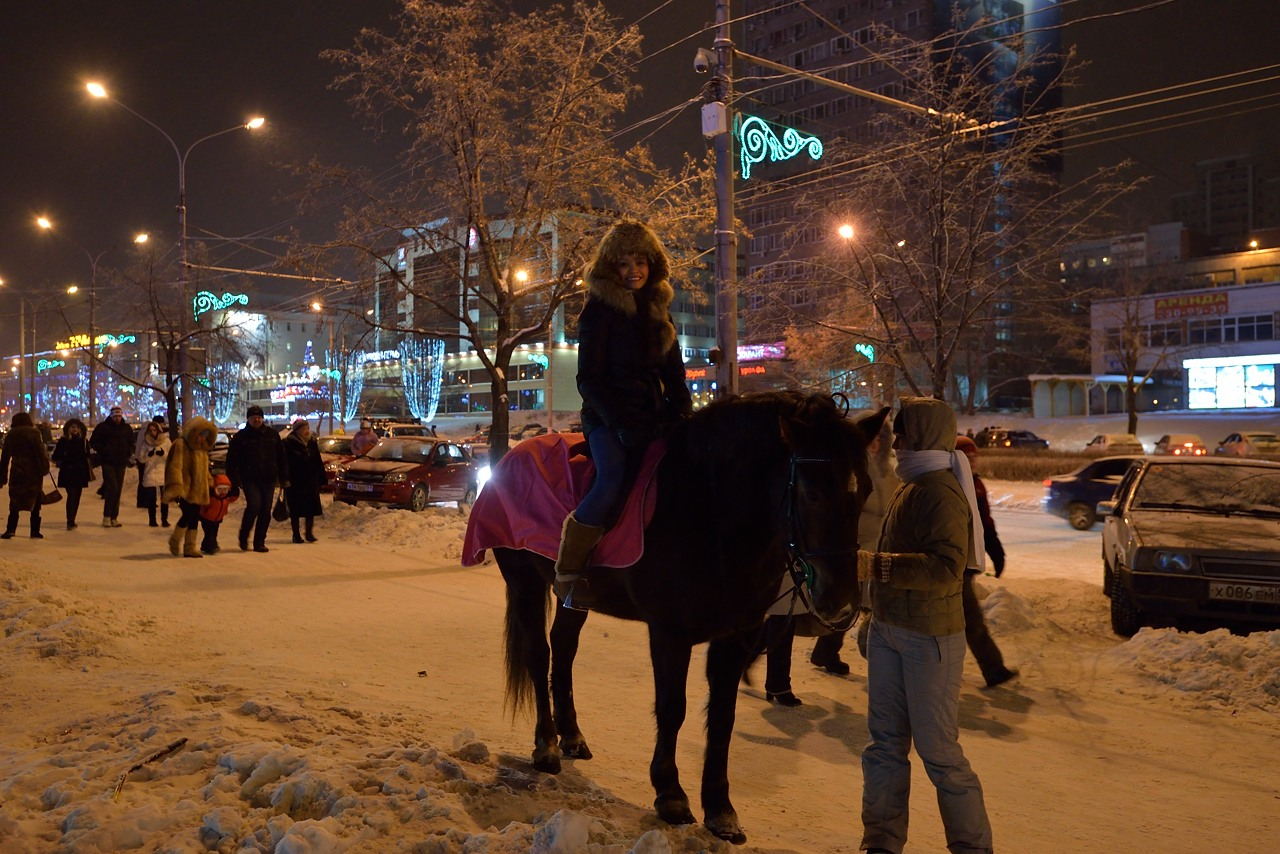 Ледовый городок в Перми, январь 2013 - 34