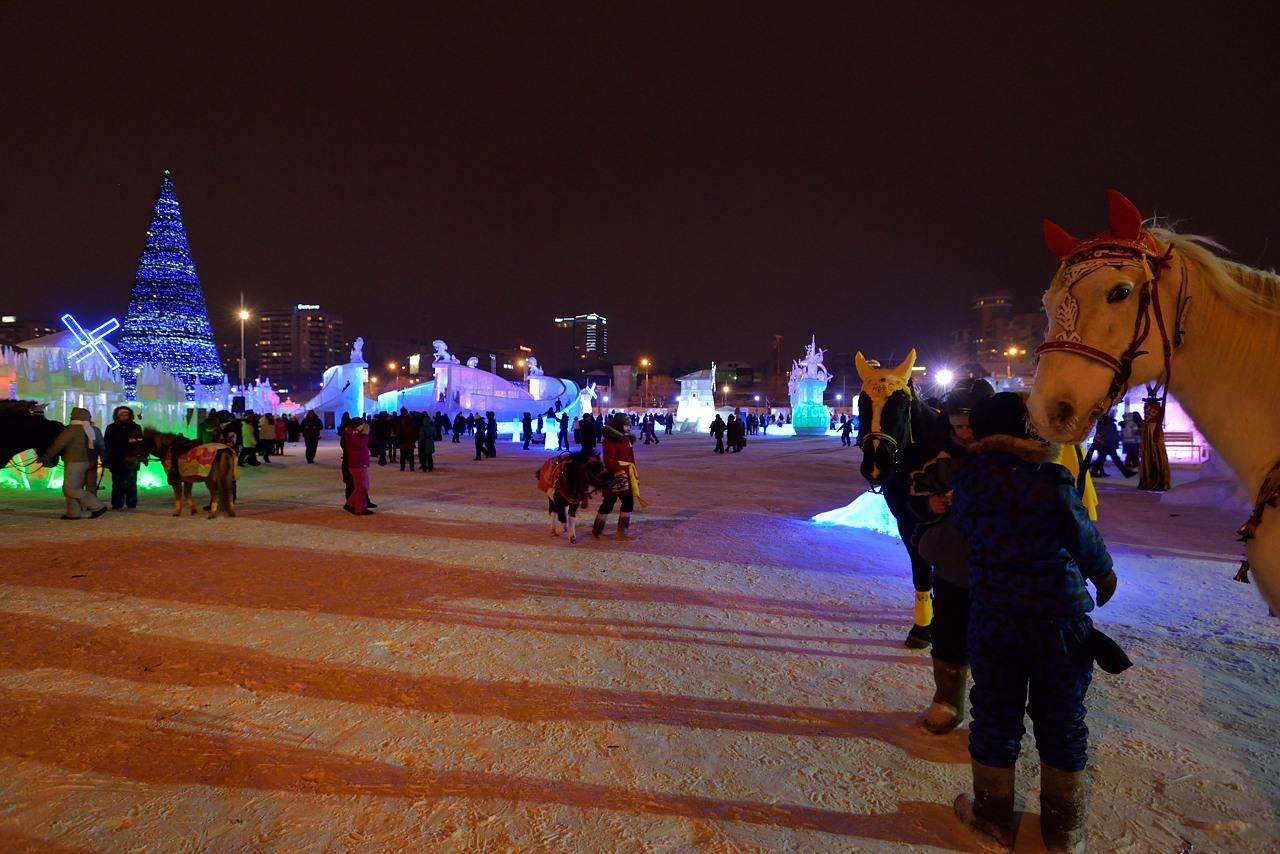 Ледовый городок в Перми, январь 2013 - 35