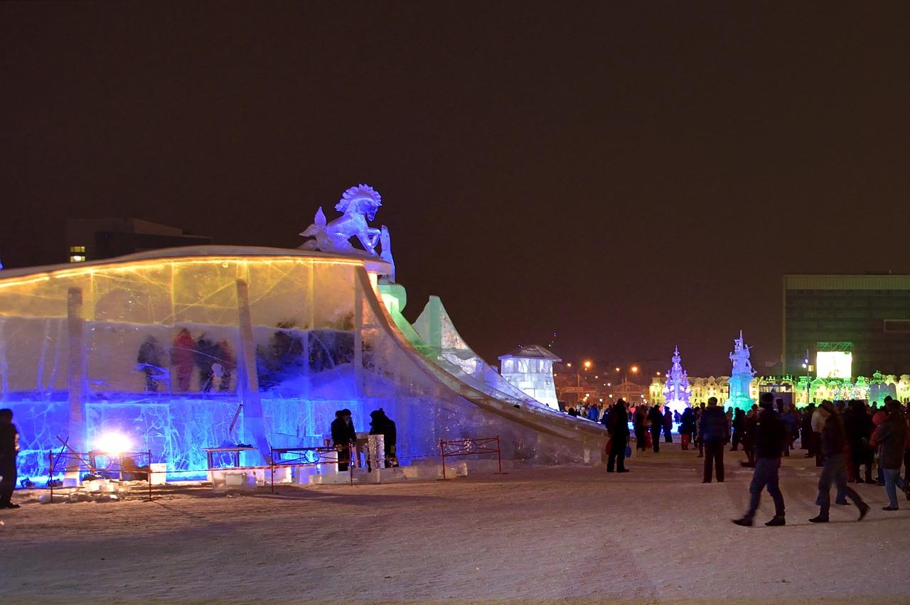 Ледовый городок в Перми, январь 2013 - 37