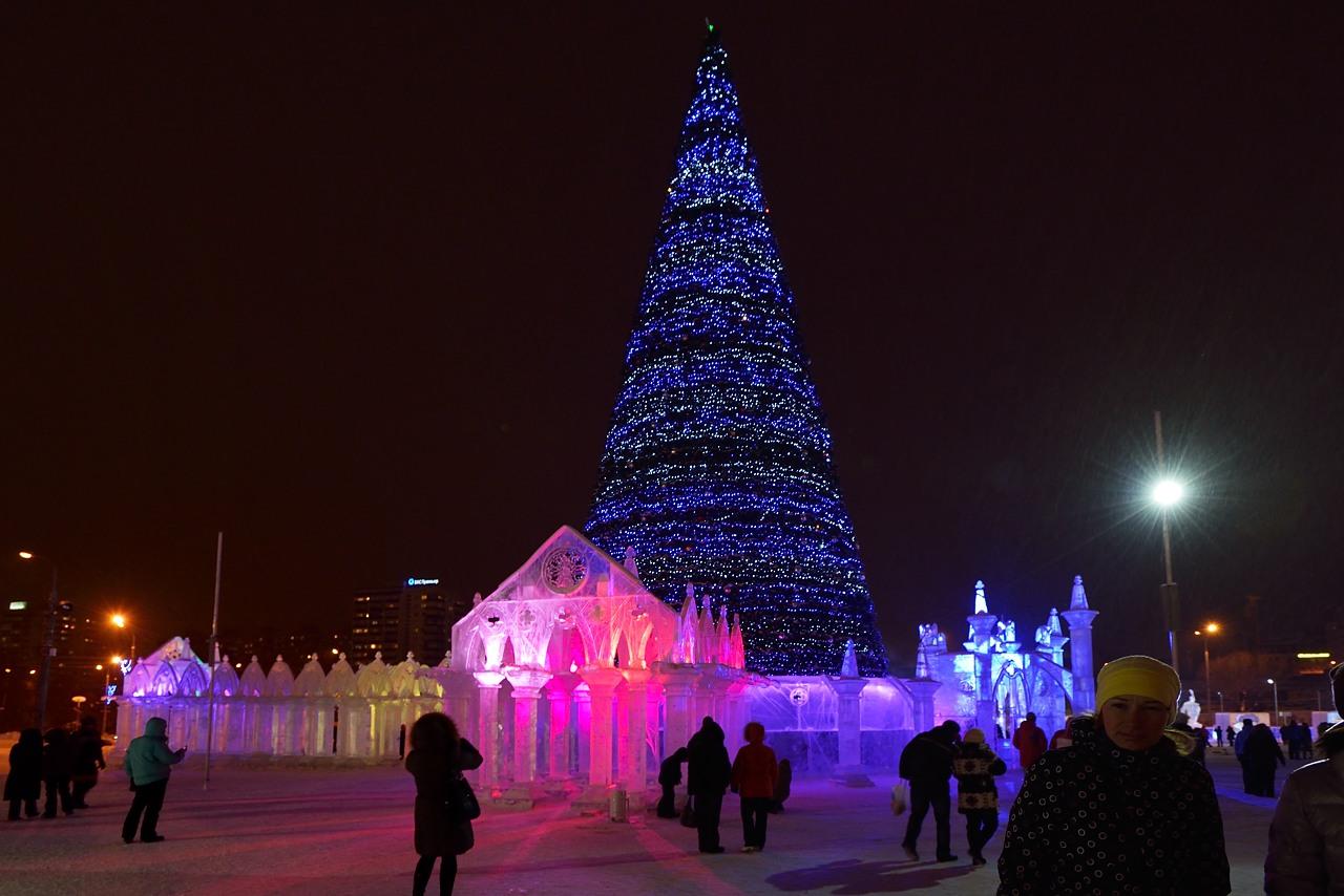 Ледовый городок в Перми, январь 2013 - 38