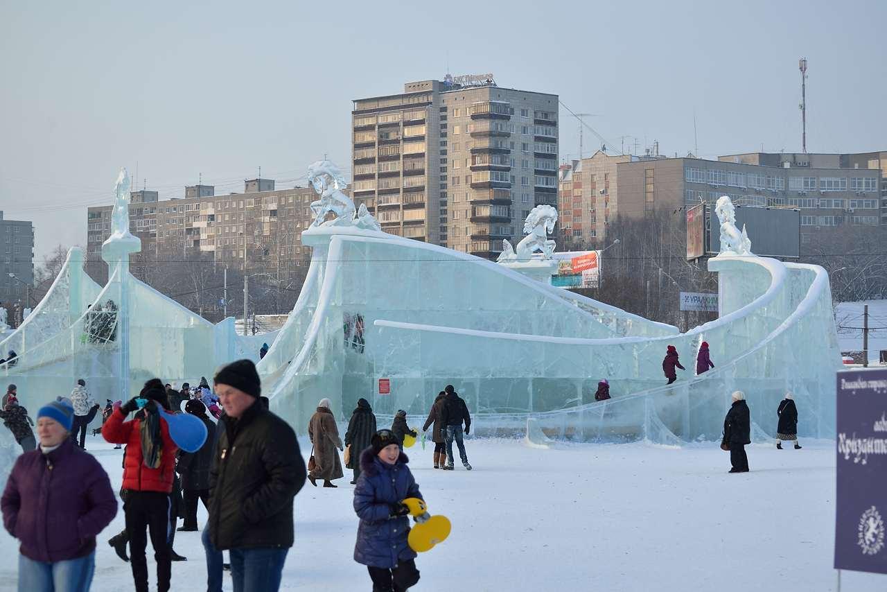 Ледовый городок в Перми, январь 2013 - 39