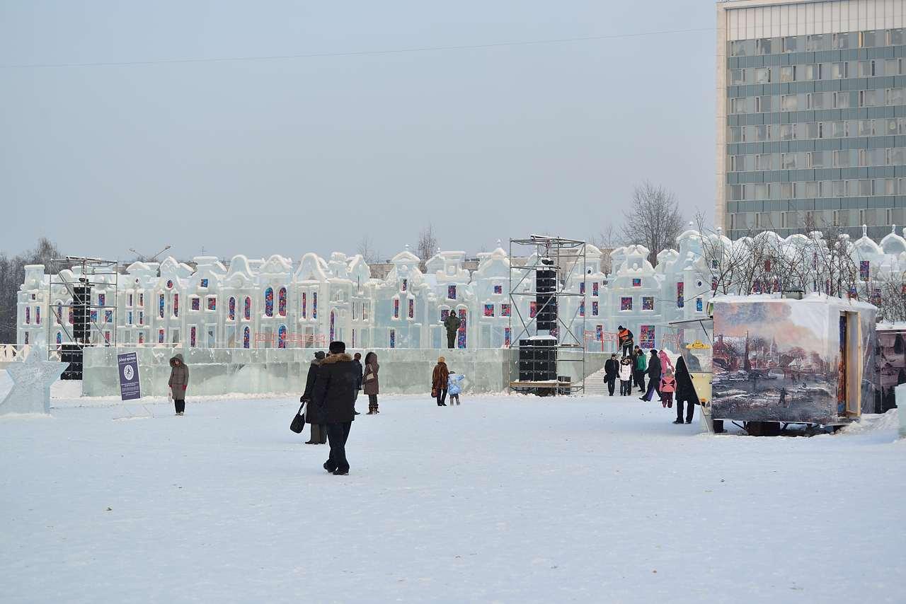 Ледовый городок в Перми, январь 2013 - 40