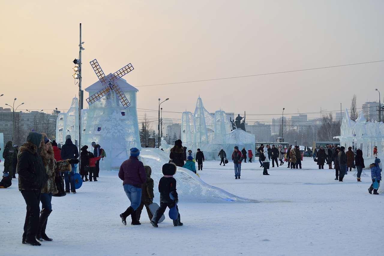 Ледовый городок в Перми, январь 2013 - 41