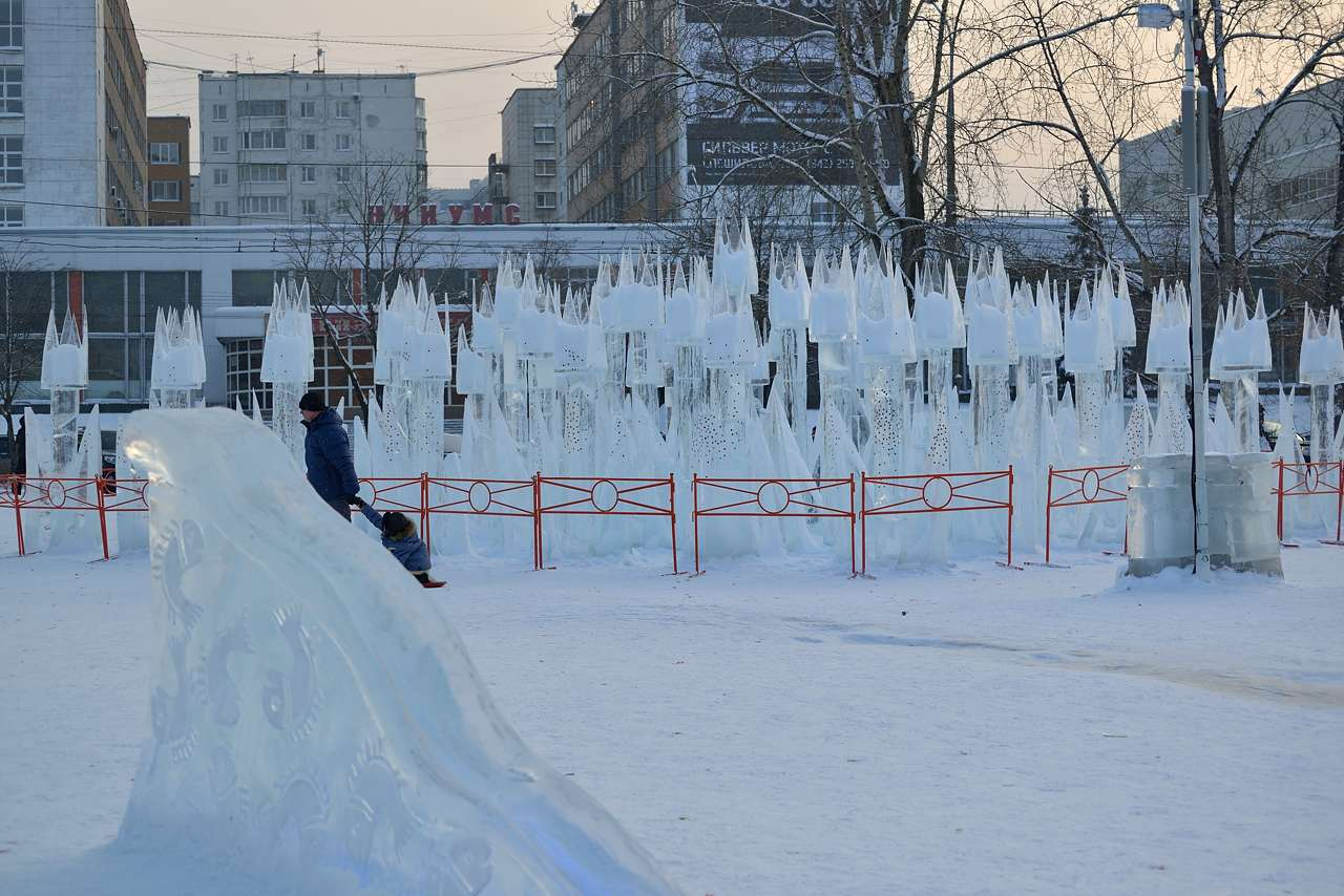 Ледовый городок в Перми, январь 2013 - 44