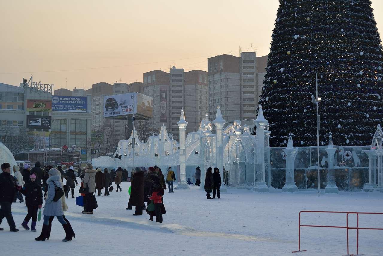 Ледовый городок в Перми, январь 2013 - 46