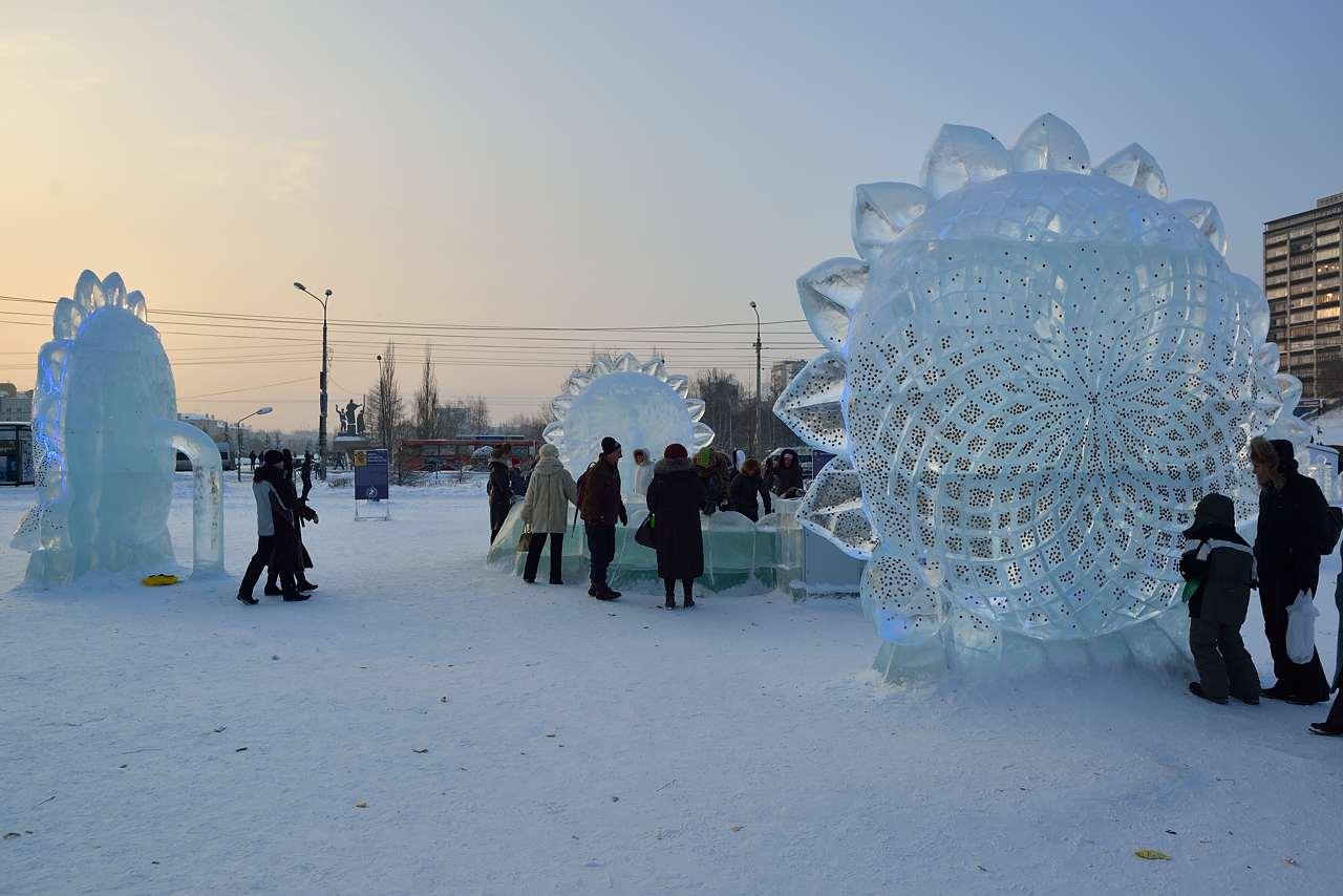Ледовый городок в Перми, январь 2013 - 48