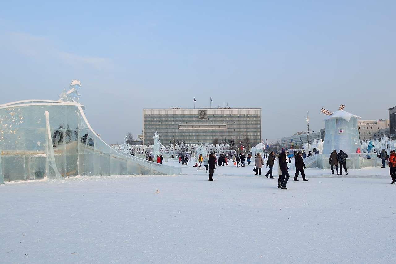Ледовый городок в Перми, январь 2013 - 51
