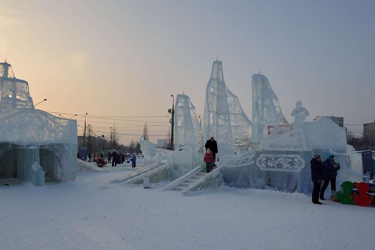 Ледовый городок в Перми, январь 2013 - 52