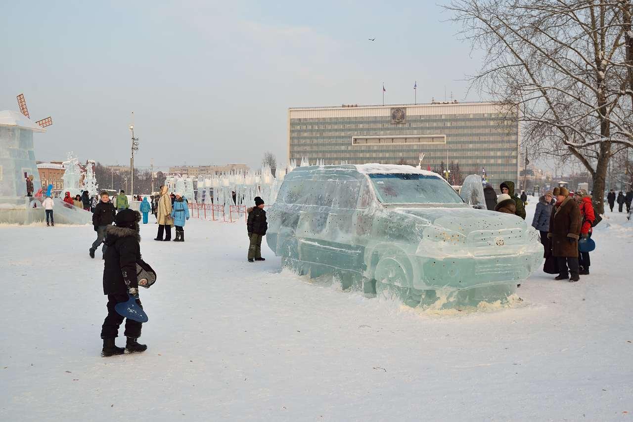 Ледовый городок в Перми, январь 2013 - 53