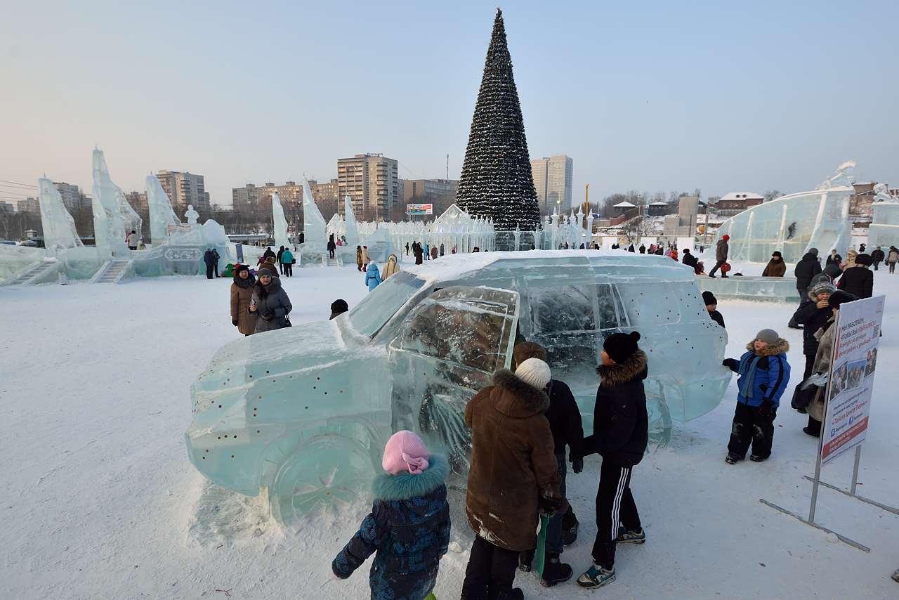 Ледовый городок в Перми, январь 2013 - 54