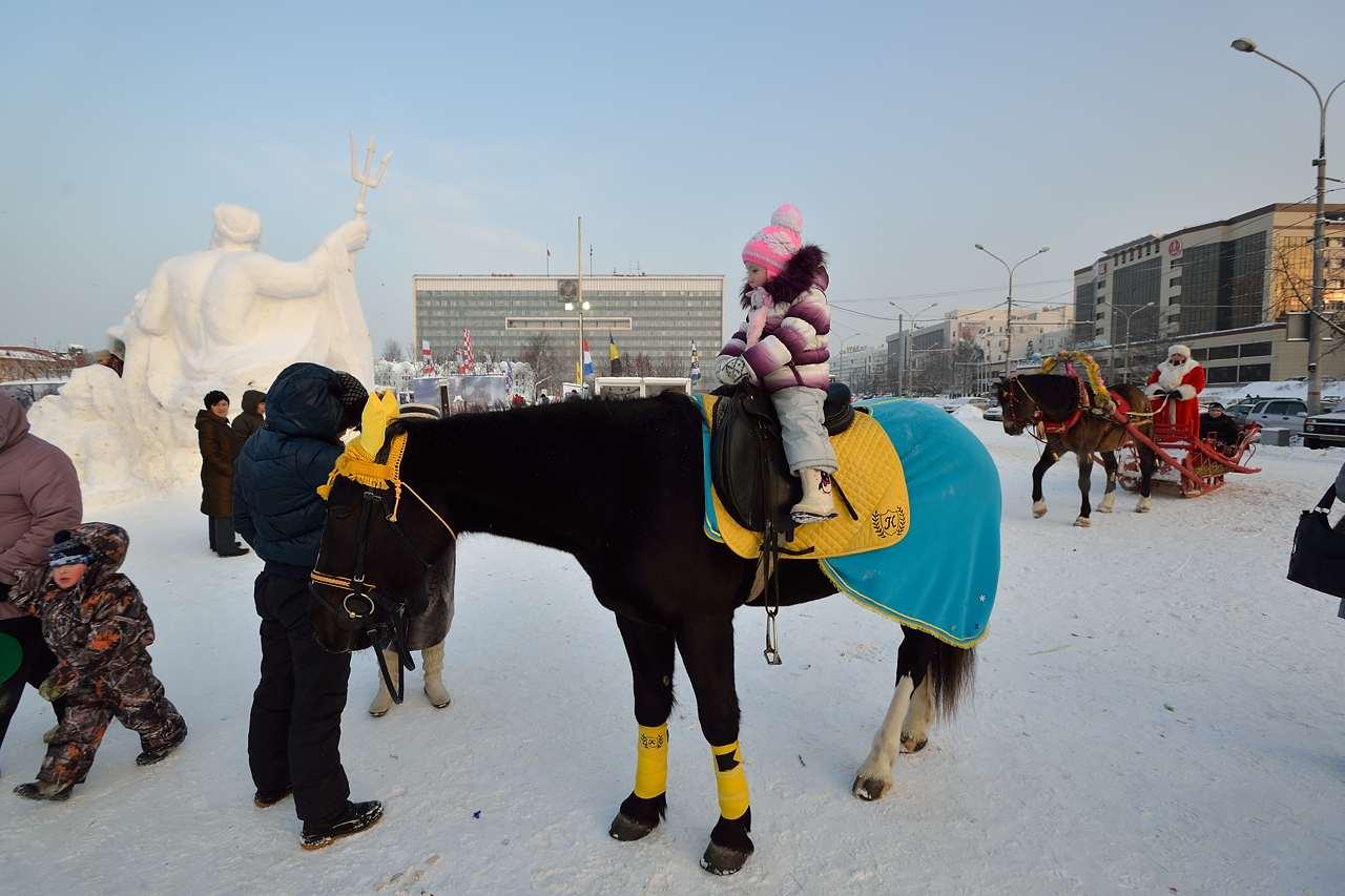 Ледовый городок в Перми, январь 2013 - 55