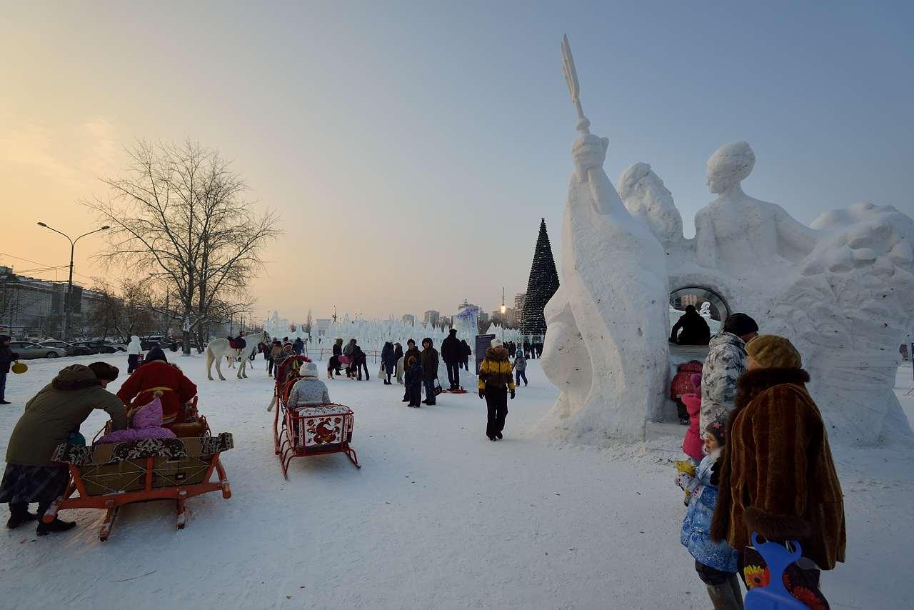Ледовый городок в Перми, январь 2013 - 56