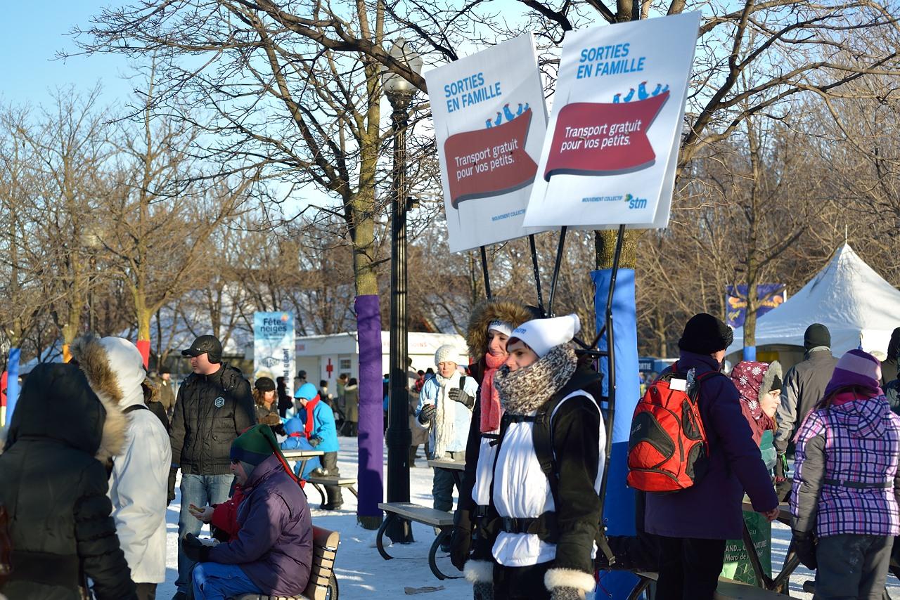 Parc Jean Drapeau Jan 27, 2013 - 41